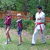 First martial arts lesson, with John-John Kim