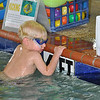 B liked his goggles today at swim lessons