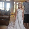 and Aunt Brooke's wedding dress