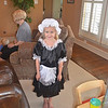 and a French maid, what a fun day of dressing up!!