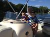 20130817-1618 IMG_6008 Steve, Austin, Ethan driving boat