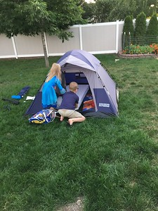 New tent! Time to try it out!
