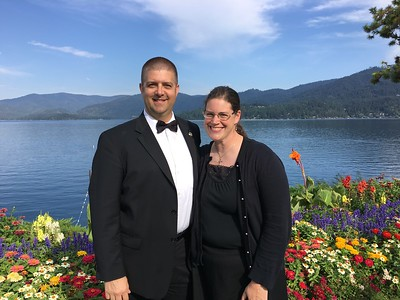 12th anniversary - perfect day to play a symphony concert at the Hayden Lake Country Club