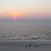 Sunset from our condo, Clearwater Beach, FL, 8/30/2013