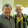Frank's 92nd birthday with son, Ken Gould, NC, 9/4/2013