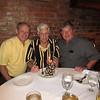 Doug, Frank, Ken Gould.  Frank is 92! Mooresville, NC, 9/4/2013