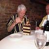 Frank on his 92nd birthday enjoying his birthday cake with son, Doug, NC, 9/4/2013