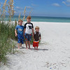 Matthew, Spencer, Bryan Lisek, Clearwater Beach, FL, by our condo, 9/13/2013