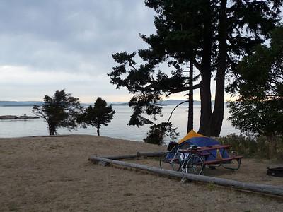 san juan county park on Haro Strait