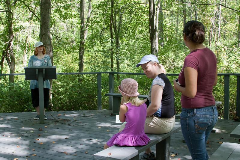 Martha, Katelyn, and Kathy listened to Chloe.