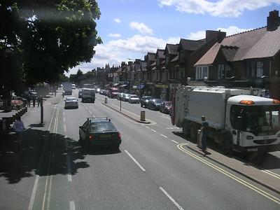 Summertown (north Oxford), from the Water Eaton shuttle bus