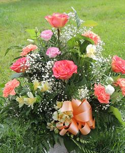 Lisa (Niece) and Robert Gordon's Flowers August 13, 2015