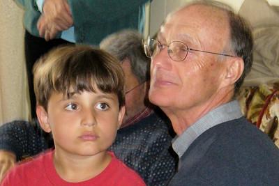 Jimmy and his Grandpa Bob