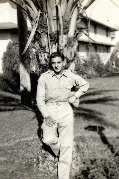 Uncle Toddy at Williams Army Air Field, Arizona, circa 1944-45