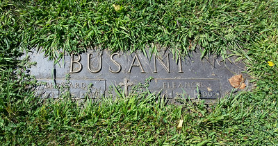 Aunt El and Uncle Bernard grave