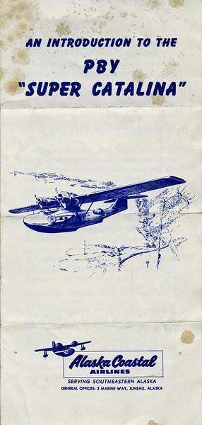 Alaska Coastal Airlines Catalina