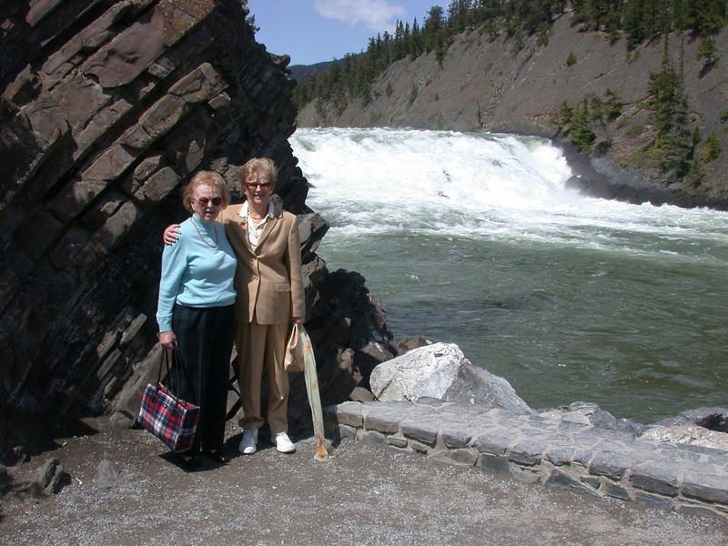 Bow Falls in Banff.