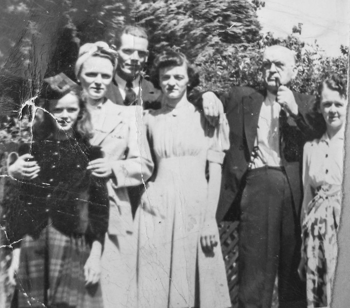 Joanne, Eileen, John, Loretta, WB, Gen