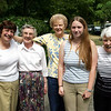 Martha and Laura traveled to BC to visit the Aunties.<br /> Martha Auntie Mickie, Auntie Joanne, Laura, Auntie Maureen