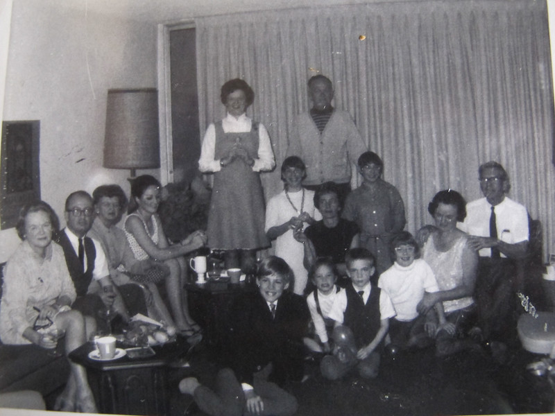 The Vancouver McDonald's came down to Los Angeles for Christmas and New Years 1968 and stayed over to celebrate a surprise 40th birthday party for Joanne.<br /> Eileen, Dick Gen, Sheila, Joanne, Eileen, Bill, Mary, Martha, Ian, Stephanie, Mark, Laura, Teeny, John