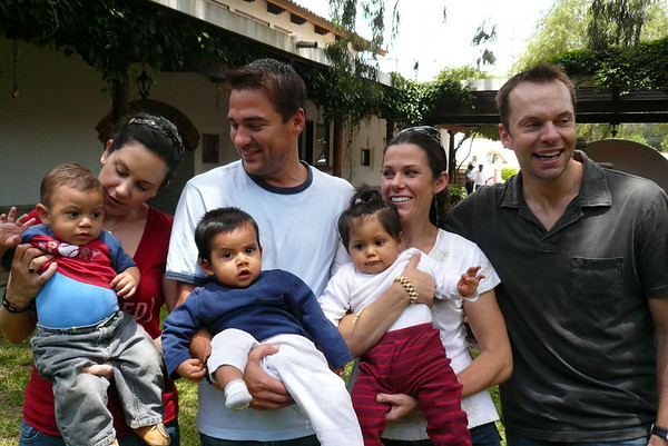 Auntie Lisi, Uncle Jeff and Uncle Pablo in Guatemala! - June 2008