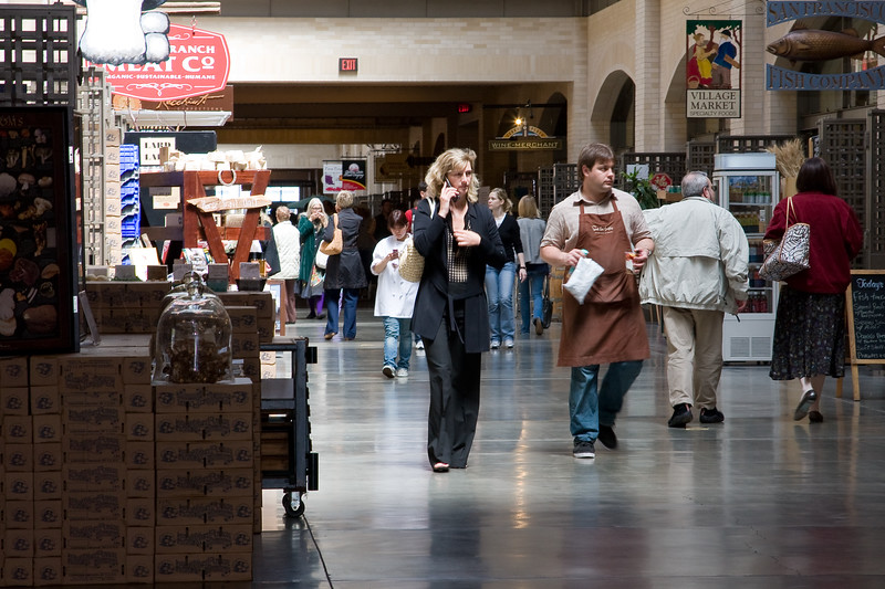 A typical day in the Ferry Building
