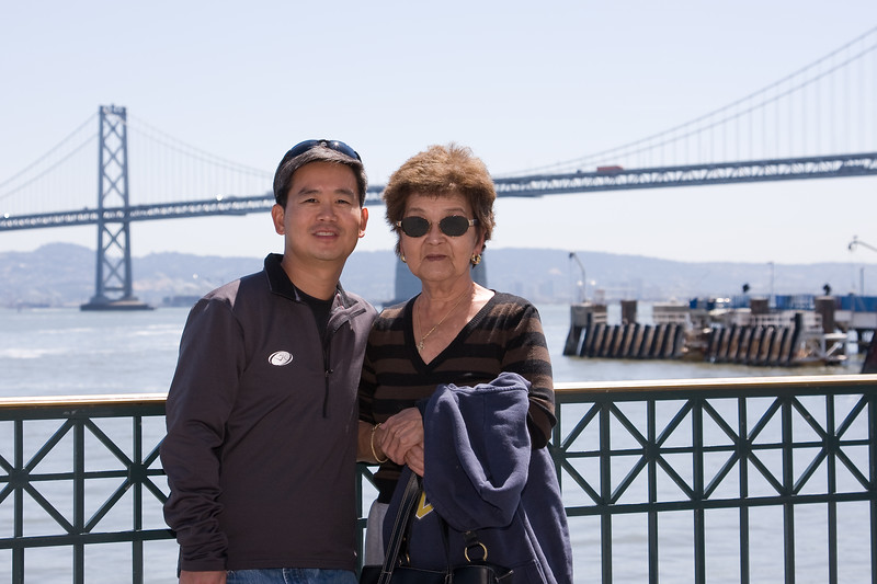 Brian and Mom