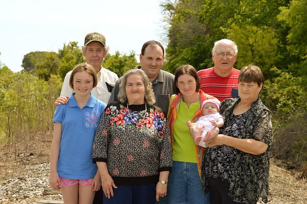 Austin Family & Grandparents