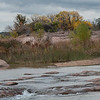 The Llano River is spring fed in addition to runoff