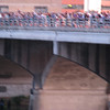 9. each section of the bridge awakes as a group and leaves