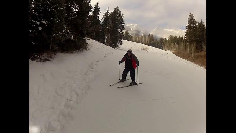 Austin Learns to ski 2