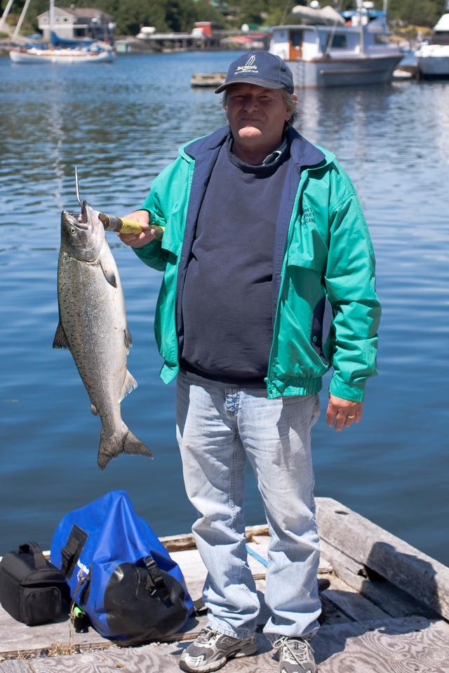 Bamfield with Spring Salmon