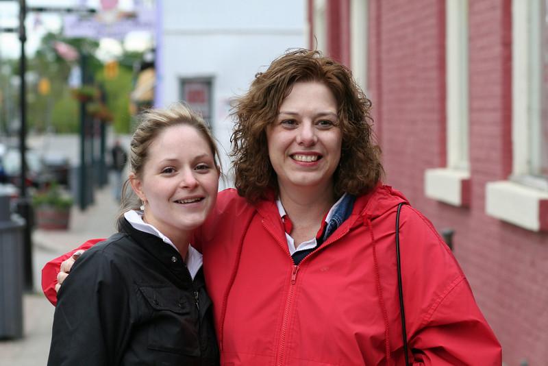 Sarah and Trish