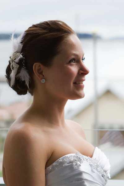 Sarah before wedding.