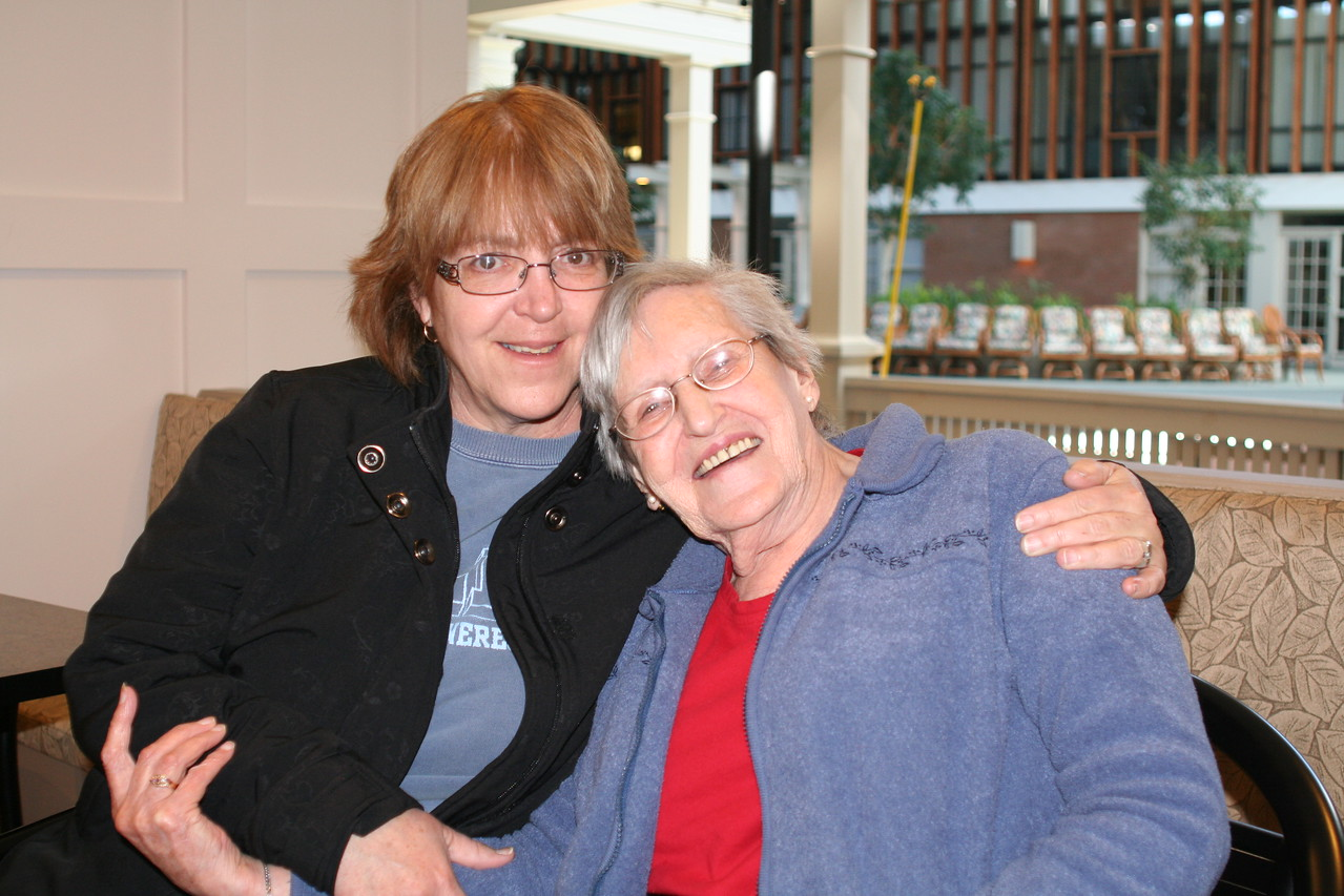 Cousin Debbie and Aunt Freda March 2011.