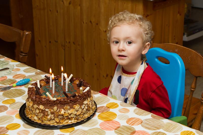 Austin 4 Year Birthday.