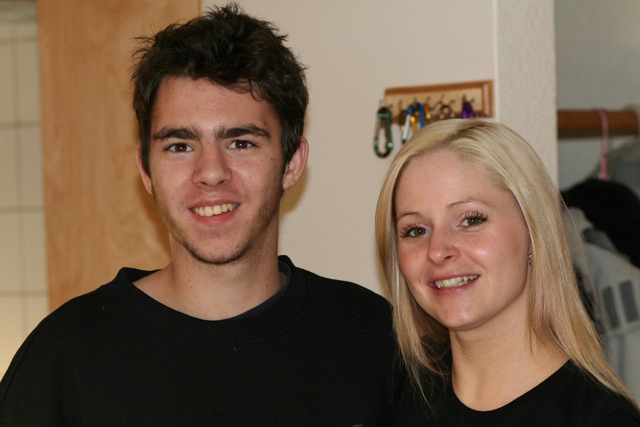 Bronson and Sarah