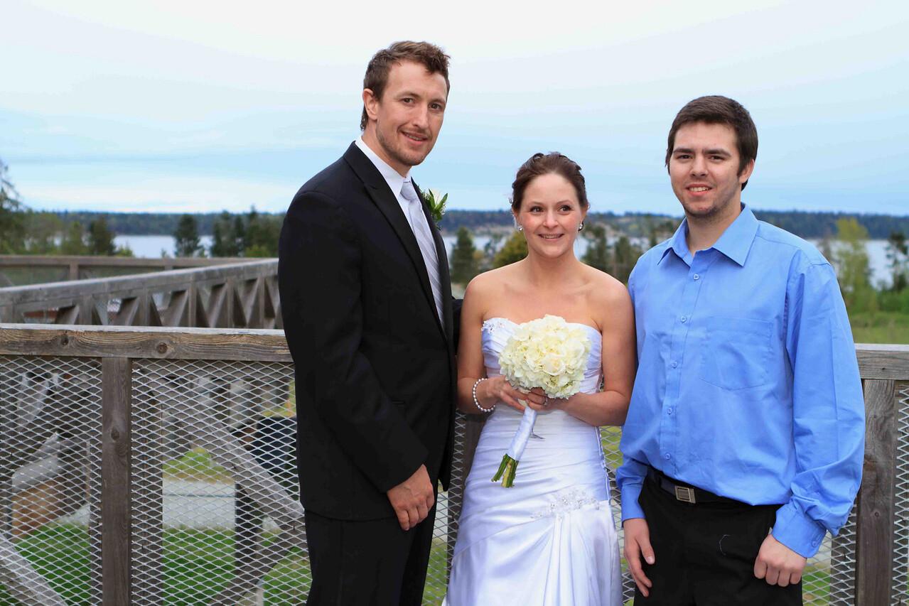 Matt, Sarah and Bronson