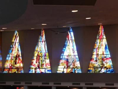 Windows in St. Andrew's Church