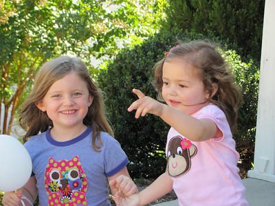 Ava and Lila 10-22-2010
