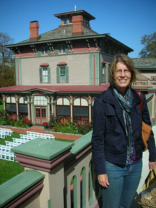 Touring The Southern Mansion.