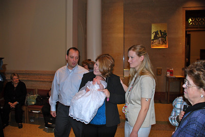 Ava's Baptism November 2009