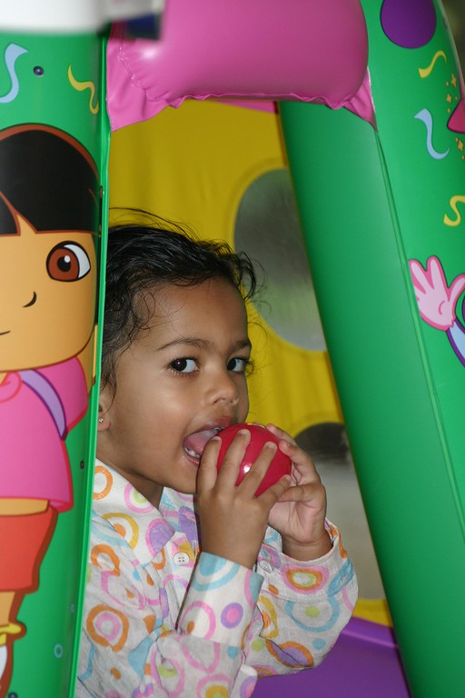 ... in Dora Tent