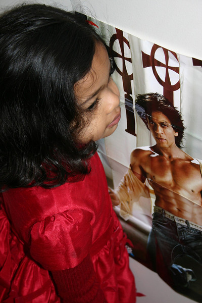 One more picture with Shahrukh