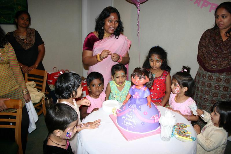 From left Arni, Pinky, Udaiyaa, Ayushie, Jasmi, Manasi and Jasreen ...