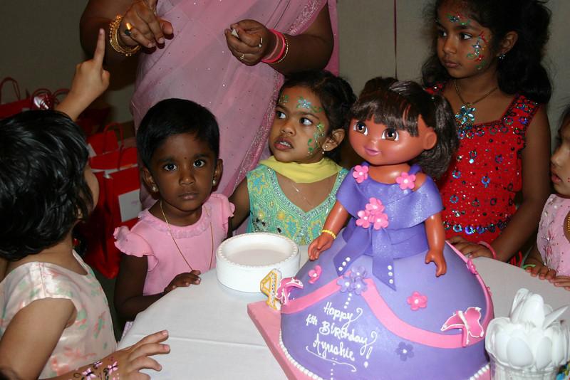 From left Pinky, Udaiyaa, Ayushie, Jasmi and Manasi ...
