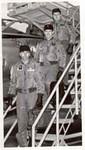 Crew: Leonard Sullivan, pilot; John Burch, navigator, Charles Lincoln, defensive systems operator.