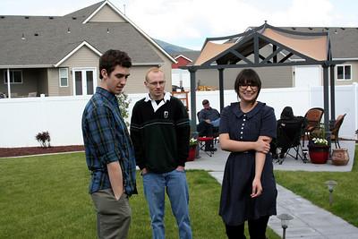 Brad, Patrick, & Ashely