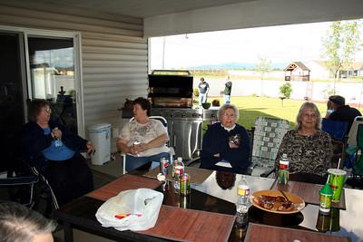 Aunt Sue, Linda, Grandma Peak, & Aunt Judy.