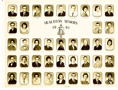 1961--BJB High School Years